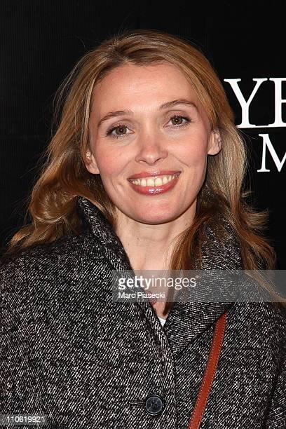Anne Marivin attends the 'Les yeux de sa mere' Paris Premiere on March 22 2011 in Paris France