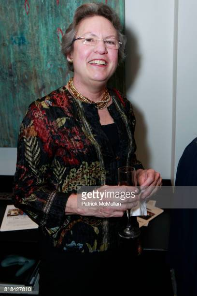 Anne McKinney attends MUSIC UNITES And EDUCATION THROUGH MUSIC Present An Evening With JOSHUA BELL at Private Residence on January 25 2010 in New...