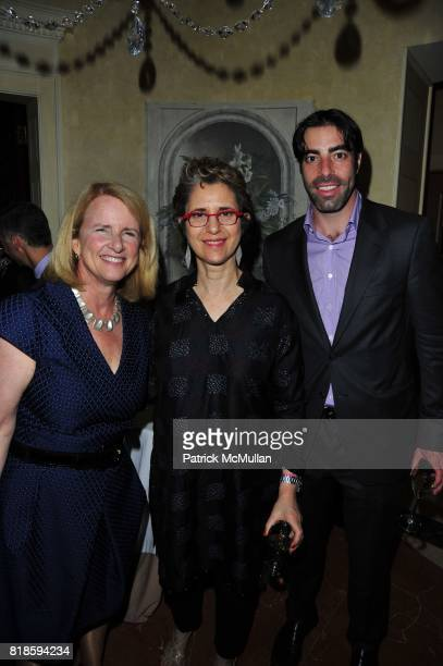 Anne McNutley Linda Sirow and Steven Marcus attend Dinner party to celebrate The Child Mind Institute's 2010 Adam Jeffrey Katz Memorial Lecture...