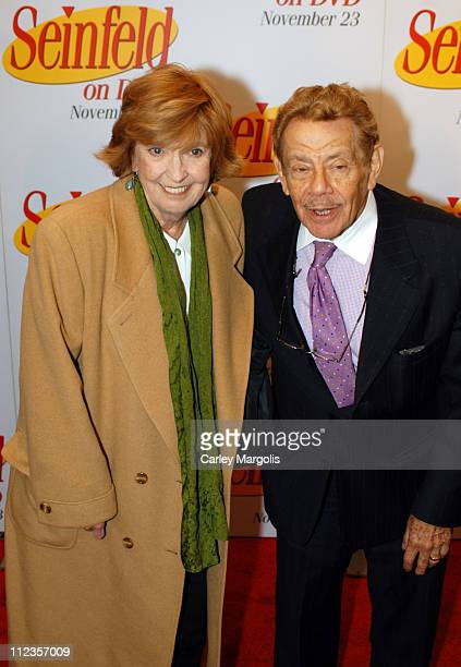 Anne Meara and husband Jerry Stiller during 'Seinfeld' First 3 Seasons Released on DVD at Rainbow Room in New York City New York United States