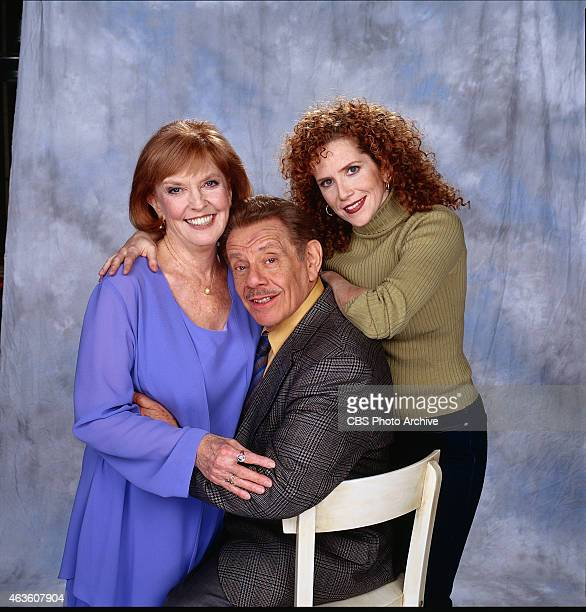 Anne Meara guest stars with series regular Jerry Stiller her real life husband in 'S'Ain't Valentine' an episode of THE KING OF QUEENS Their daughter...