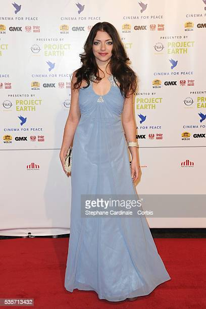 Anne Menden attends the Cinema for Peace Gala at the Konzerthaus Am Gendarmenmark during the 61st Berlin International Film Festival