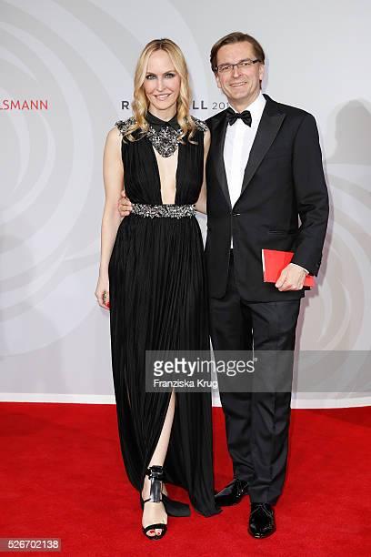 Anne MeyerMinnemann and Claus Strunz attend the Rosenball 2016 on April 30 in Berlin Germany