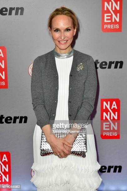 Anne MeyerMinnemann attends the Nannen Award 2017 on April 27 2017 in Hamburg Germany