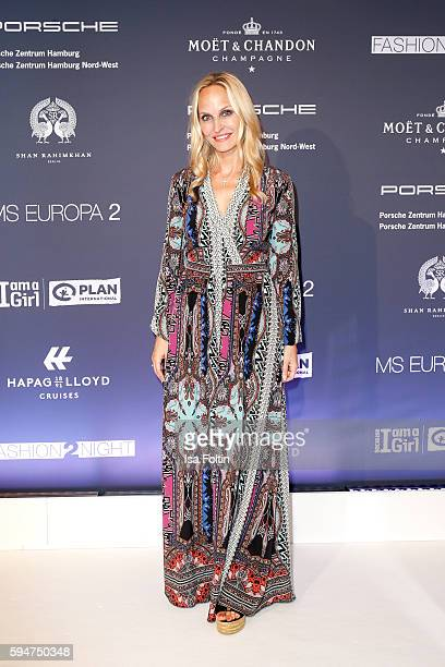 Anne MeyerMinnemann chief editor Gala Germany attends the Fashion2Night event at EUROPA 2 on August 23 2016 in Hamburg Germany