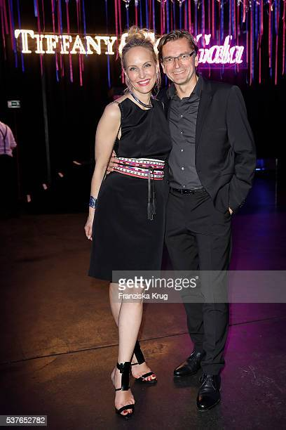 Anne MeyerMinnemann editor in chief of Gala and her husband Claus Strunz during the 'Return to Love' By GALA and Tiffany Co on June 02 2016 in Berlin...