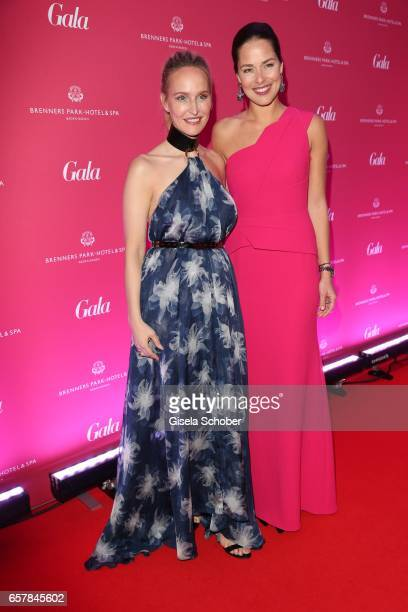 Anne MeyerMinnemann EditorInChief of GALA and Ana Ivanovic during the Gala Spa Awards at Brenners ParkHotel Spa on March 25 2017 in BadenBaden Germany
