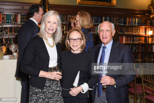 Anne Nordeman Jane Novick and Richard Novick attend Audrey Gruss' Hope for Depression Research Foundation Dinner with Author Daphne Merkin at The...