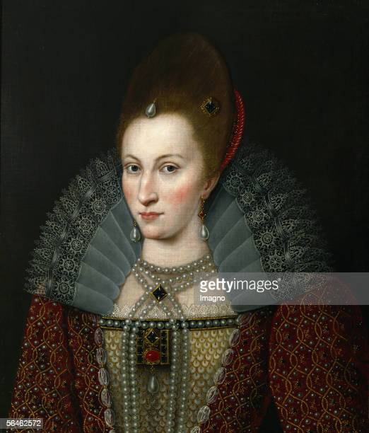 Anne of Denmark Queen of England wife of James I of England [Anne von Daenemark Koenigin von England Ehefrau von James I von England]