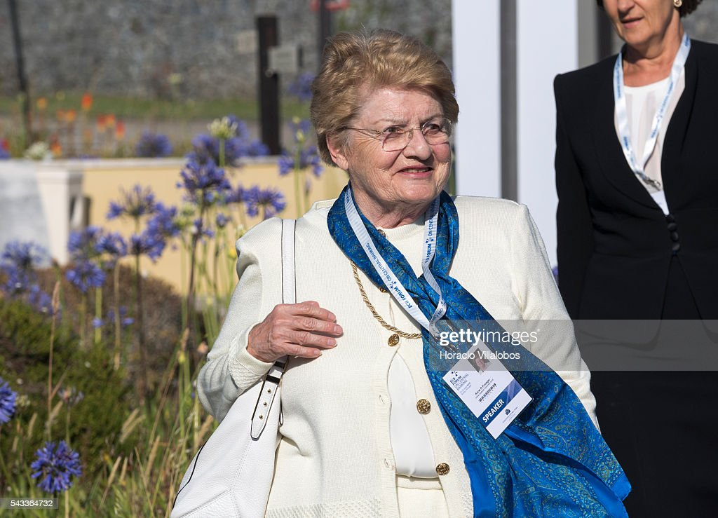 Anne Osborn Krueger, World Bank Chief Economist from 1982 to 1986, and the first deputy managing director of the International Monetary Fund from 2001 to 2006, arrives to participate in the ECB Forum on Central Banking on June 27, 2016 in Sintra, Portugal. The third annual European Central Bank Forum on Central Banking focuses on 'The future of the international monetary and financial architecture', a key topic of debate among economists and policymakers. Some 150 central bank governors, academics, financial journalists and high-level financial market representatives will discuss current policy issues and the chosen topic from a longer-term perspective.