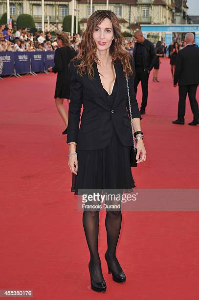 Anne Parillaud arrives at the closing ceremony and the 'Sin City A Dame To Kill For' premiere of during the 40th Deauville American Film Festival on...
