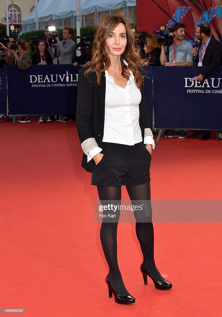Anne Parillaud arrives at the 'Get On Up' Premiere And Tribute To Brian Grazer 40th Deauville American Film Festival at the CID on September 12 2014...