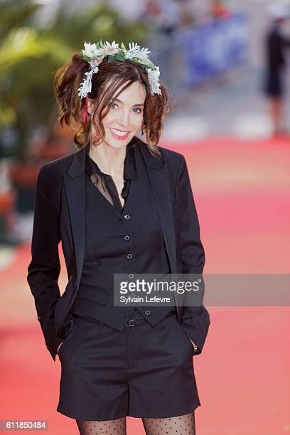 Anne Parillaud attends closing ceremony of 27th Dinard British Film Festival on October 1 2016 in Dinard France