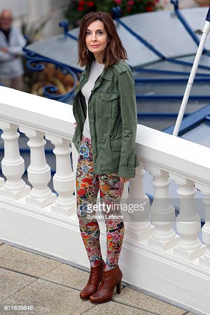 Anne Parillaud attends jury photocall during 27th Dinard British Film Festival on September 30 2016 in Dinard France