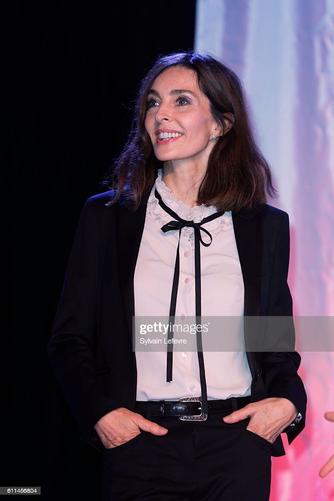 Anne Parillaud attends opening ceremony of 27th Dinard British Film Festival on September 29, 2016 in Dinard, France.