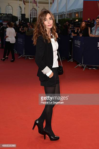 Anne Parillaud attends the 'Get On Up' premiere on September 12 2014 in Deauville France
