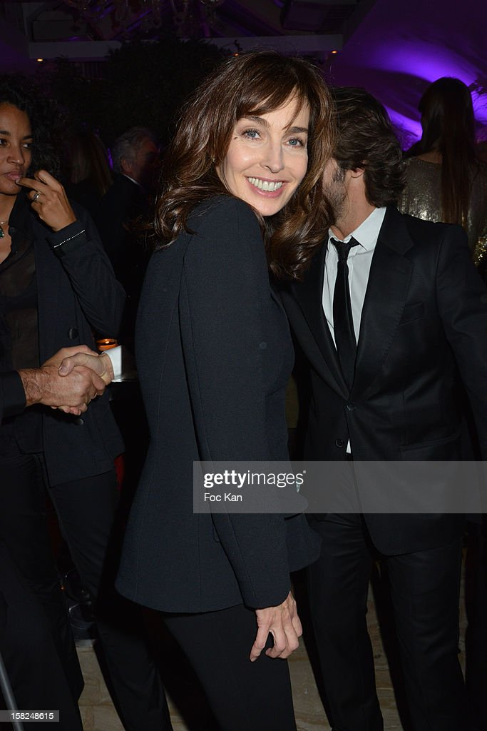 Anne Parillaud attends the The Bests Awards 2012 Ceremony at the Salons Hoche on December 11, 2012 in Paris, France.
