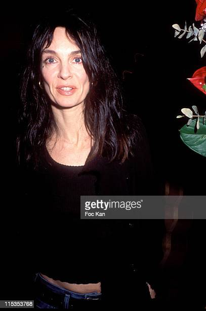 Anne Parillaud during Sardinia Tourism Promotion Party at Restaurant Findi in Paris France