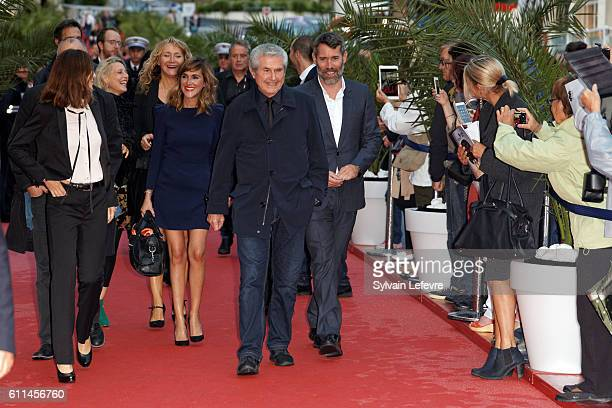 Anne Parillaud Florence Thomassin Julie Ferrier Claude Lelouch and Jalil Lespert attend opening ceremony of 27th Dinard British Film Festival on...