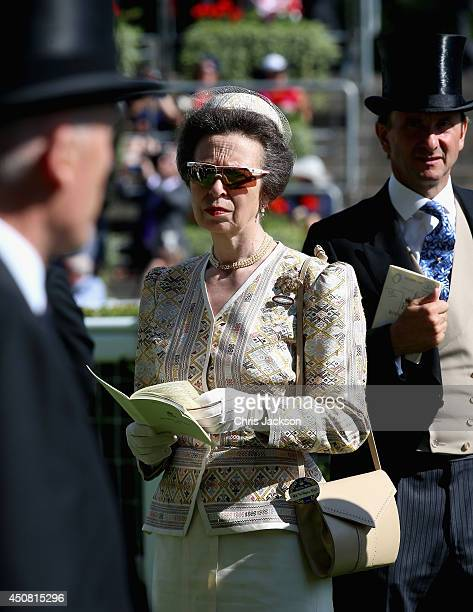 Anne Princess Royal attends day two of Royal Ascot at Ascot Racecourse on June 18 2014 in Ascot England