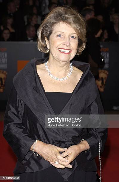 Anne Reid arrives at the BAFTA Awards at Odeon in Leicester Square London