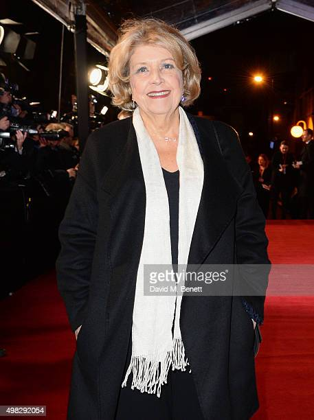 Anne Reid arrives at The London Evening Standard Theatre Awards in partnership with The Ivy at The Old Vic Theatre on November 22 2015 in London...