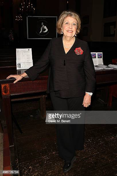 Anne Reid attends 'A Source of Life 25 Years of the Ian Charleson Day Centre' a special presentation to commemorate the 25th anniversary of the Royal...
