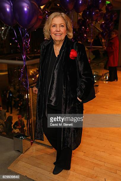 Anne Reid attends the Gala Night performance of 'Matthew Bourne's The Red Shoes' at Sadler's Wells Theatre on December 15 2016 in London England