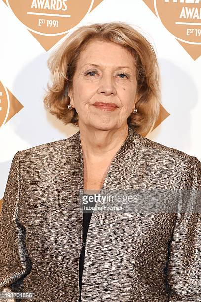 Anne Reid attends the UK Theatre Awards 2015 at The Guildhall on October 18 2015 in London England