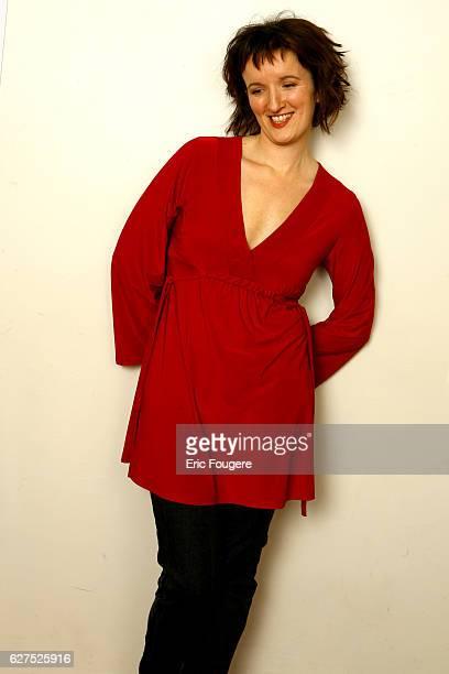 Anne Roumanoff attends comedy festival 'Paris Fait Sa Comedie