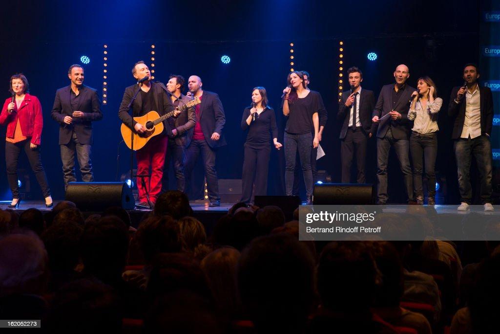 'Europe 1 Fait Bobino' show at Bobino Theater