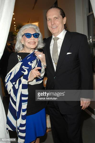 Anne Slater and John Cahill attend LA MER and OCEANA Party for WORLD OCEAN DAY 2008 at 620 Loft Garden on June 4 2008 in New York City
