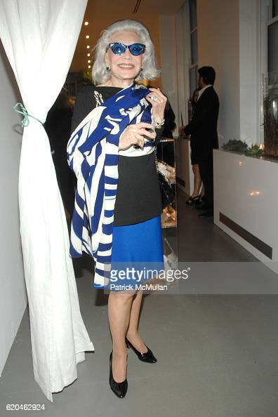 Anne Slater attends LA MER and OCEANA Party for WORLD OCEAN DAY 2008 at 620 Loft Garden on June 4 2008 in New York City