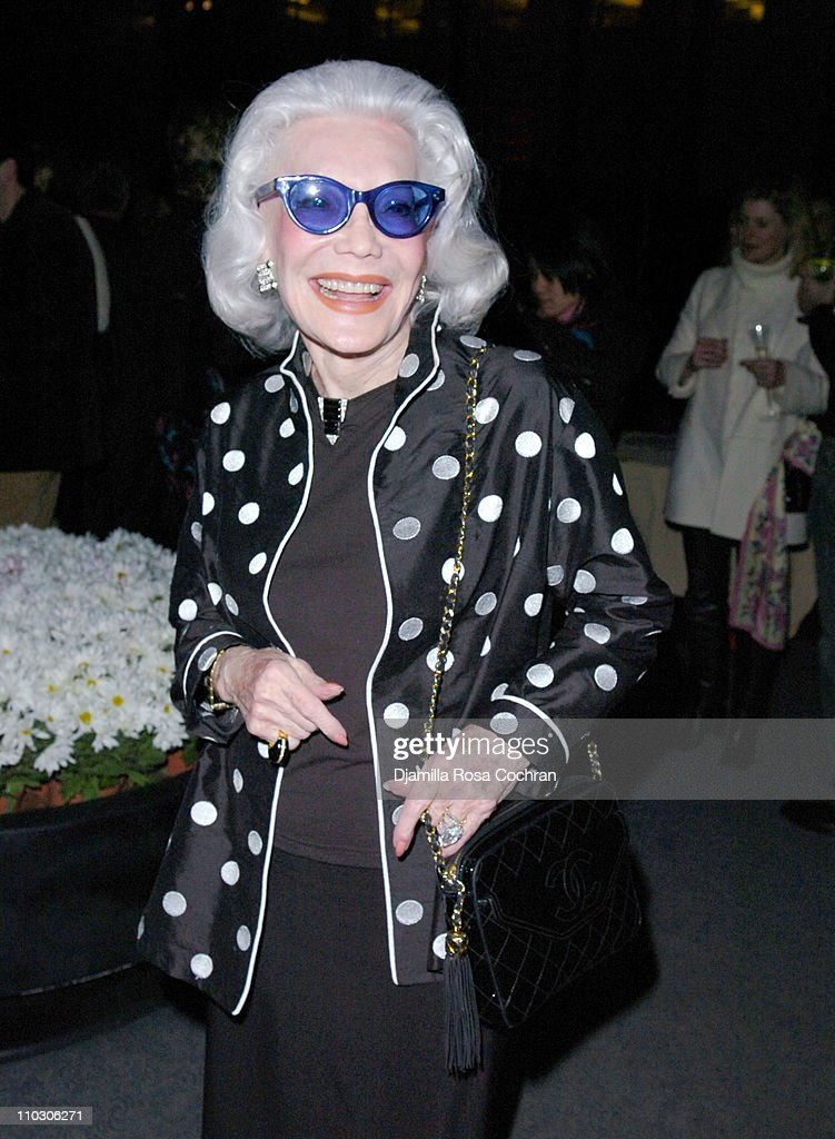 Anne Slater during Bill Blass Launches New Fragrance - Cocktail Party at The Four Seasons Restaurant in New York City, New York, United States.