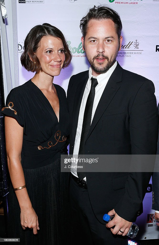 Anne Sobol and director Jonathan Sobol attend the Virgin Mobile Arts & Cinema Centre - 'The Art Of The Steal' After Party at F-Stop on September 11, 2013 in Toronto, Canada.