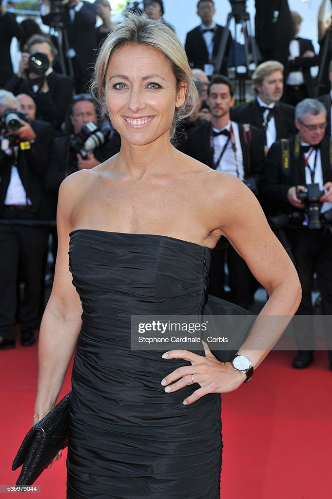 Anne Sophie Lapix at the Closing ceremony and 'A Fistful of Dollars' screening during 67th Cannes Film Festival