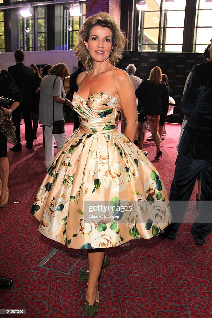 Anne Sophie Mutter attends the 'Gala Abend mit Arthur Cohn' - as part of Filmfest Muenchen 2014 at Gasteig on July 1, 2014 in Munich, Germany
