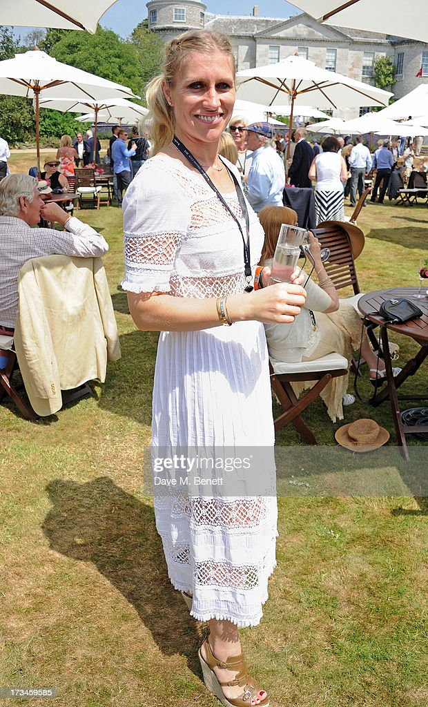 Anne Stewart attends the Cartier Style & Luxury Lunch at the Goodwood Festival of Speed on July 14, 2013 in Chichester, England.