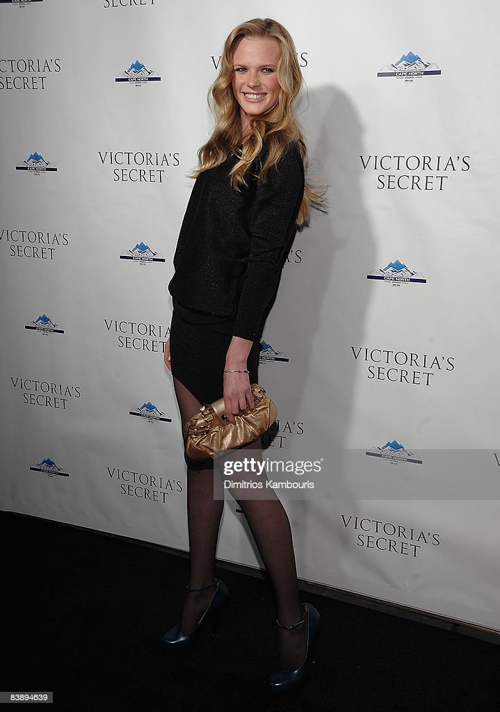 Anne V attends the grand opening celebration for the new Victoria's Secret Lexington Avenue flagship store on December 2 2008 in New York City