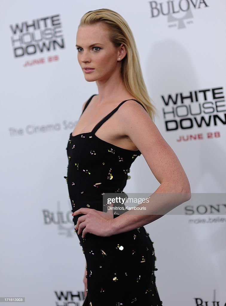 Anne V attends 'White House Down' New York Premiere at Ziegfeld Theater on June 25, 2013 in New York City.