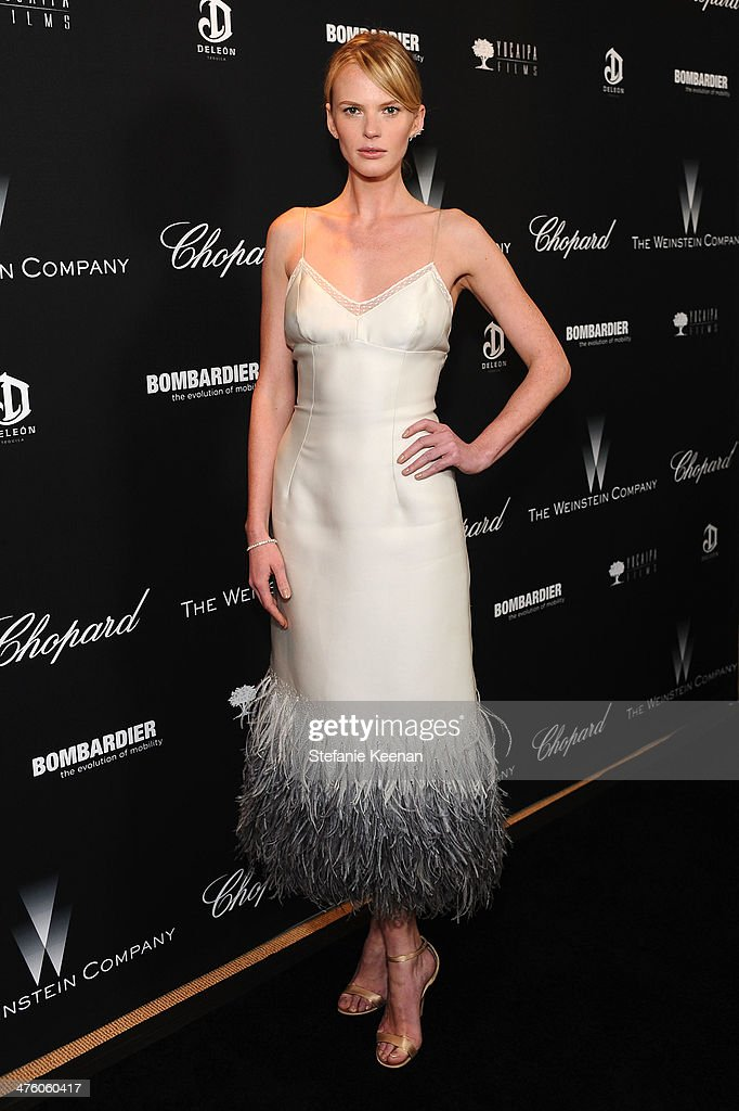 <a gi-track='captionPersonalityLinkClicked' href=/galleries/search?phrase=Anne+Vyalitsyna&family=editorial&specificpeople=2371862 ng-click='$event.stopPropagation()'>Anne Vyalitsyna</a> attends The Weinstein Company Academy Award party hosted by Chopard on March 1, 2014 in Beverly Hills, California.