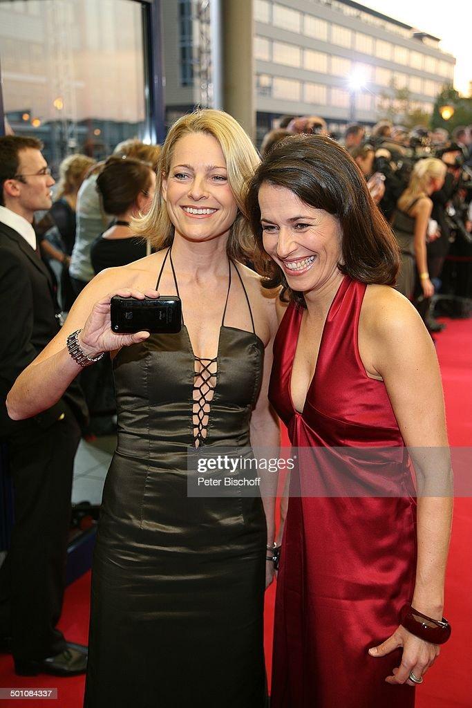 Anne Will , Freundin Miriam Meckel , ZDFGala Verleihung