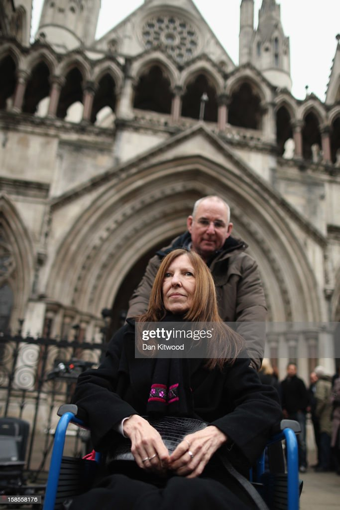 Anne Williams who lost her son Kevin in the Hillsborough Disaster arrives at the High Court on December 19, 2012 in London, England. An application presented by the attorney general, Dominic Grieve to Lord Chief Justice, Lord Judge has resulted in the quashing of the original accidental death verdict and an order for fresh inquests. The Hillsborough disaster occurred during the FA Cup semi-final tie between Liverpool and Nottingham Forest football clubs in April 1989 at the Hillsborough Stadium in Sheffield, which resulted in the deaths of 96 football fans.