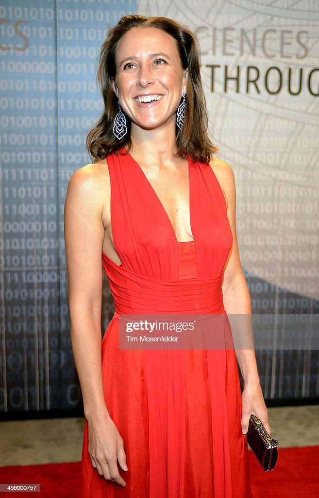 Anne Wojcicki attends the Breakthrough Prize Inaugural Ceremony at Nasa Ames Research Center on December 12, 2013 in Mountain View, California.
