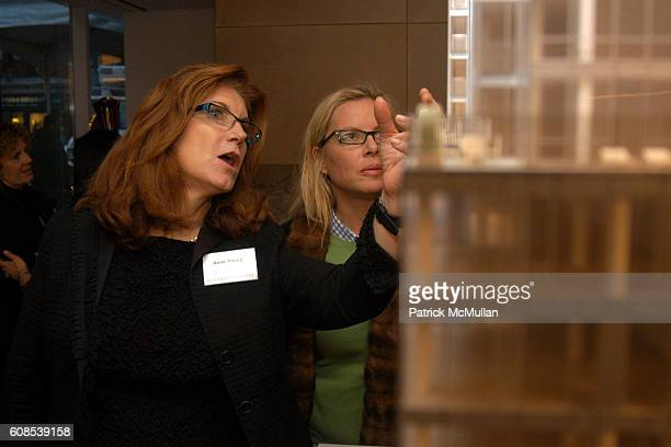 Anne Young and Brenda Powers attend Extell Development presents the Premier of The Lucida at 151 East 85th Street on March 21 2007 in New York City