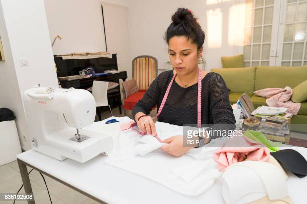 AnneC_cile Ratsimbason fashion designer for chronic patients Nice France helps the patients by creating bespoke clothing and accessories that are...