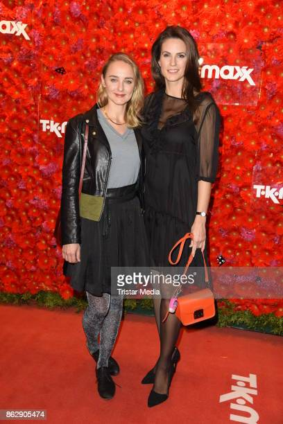 AnneCatrin Maerzke and Katrin Wrobel attend the TK Maxx 10th anniversary celebration on October 18 2017 in Berlin Germany