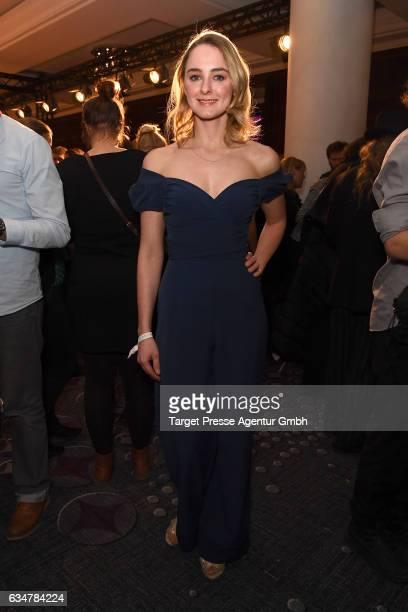 AnneCatrin Maerzke attends the Medienboard BerlinBrandenburg Reception during the 67th Berlinale International Film Festival Berlin at on February 11...