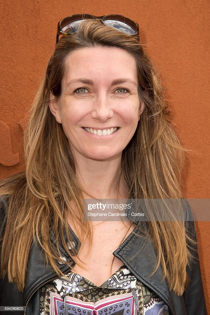Anne-Claire Coudray attends day four of the 2016 French Open at Roland Garros on May 25, 2016 in Paris, France.