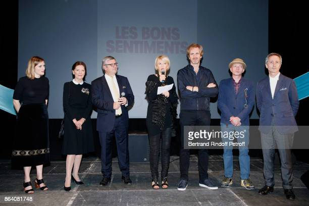 AnneClaire Schmitz Daniele Ricard President of the Ricard Foundation Philippe Savinel Director of the Ricard Foundation Colette Barbier owner of...